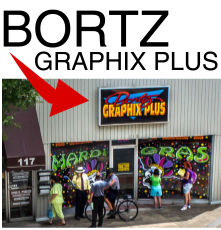 Bortz Graphix Plus Signs TShirts..