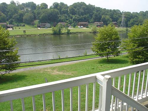 Netherland Inn :: Looking From The Porch : Before :: ©2005 DiscoverKingsport.com